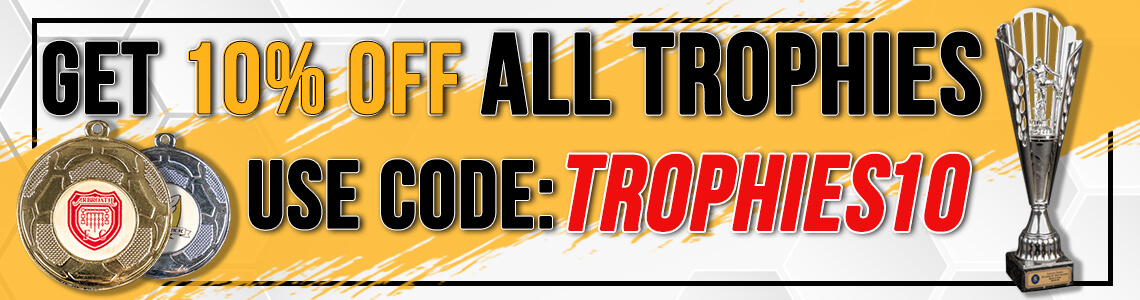 Get 10% Discount On All Trophies - Use Code TROPHIES10